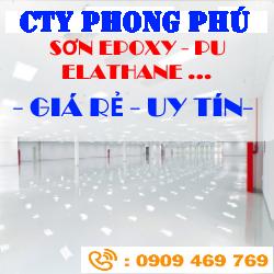 Thi Công Sơn Nền Epoxy, Thi Công Sơn Nền Bê Tông, Xi Măng