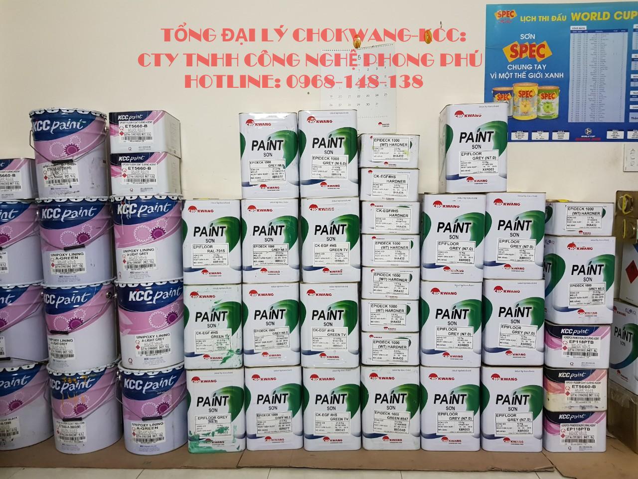 Kho phân phối sơn epoxy tại tây ninh