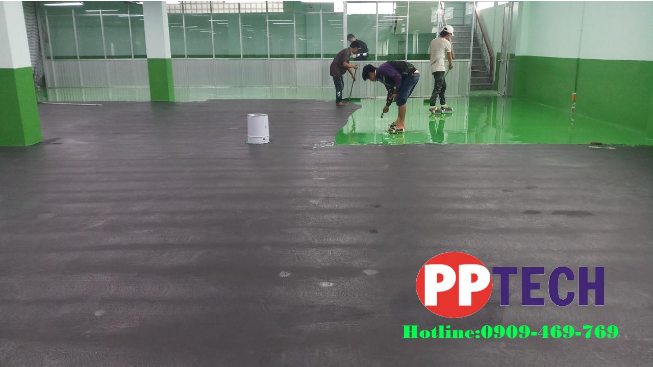 Dịch vụ thi công sơn sàn nền chống tĩnh điện Epoxy - Elexy