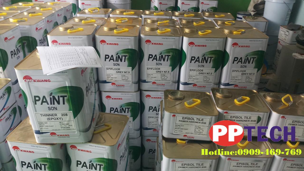 Tổng kho sơn epoxy chokwang tại bình định