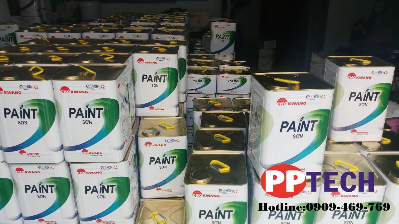 Sơn epoxy 2 thành phần hãng sơn epoxy chokwang