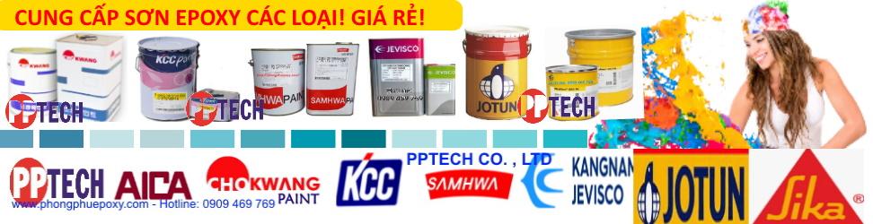Cung cấp các loại sơn epoxy giá rẻ