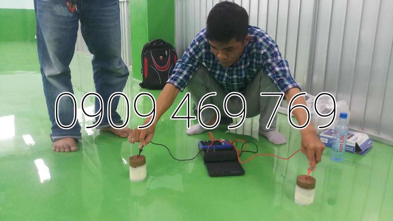 Hướng dẫn thi công sơn sàn epoxy chống tĩnh điện từ A đến Z